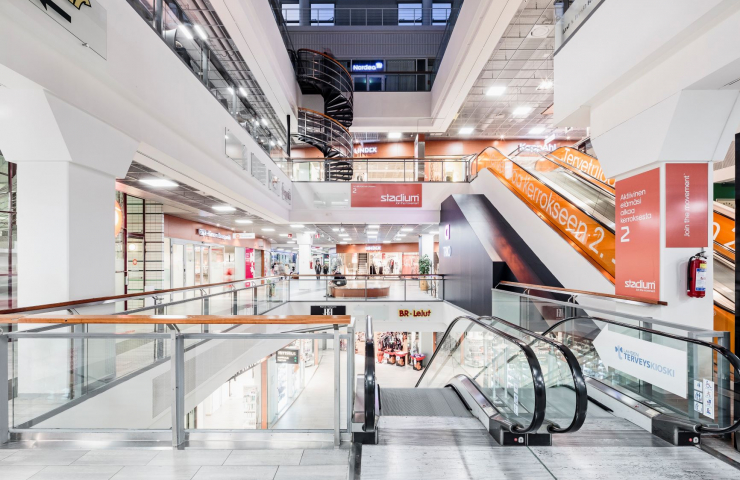 Trio köpcenter, Lahtis