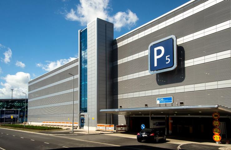 Parking 5, Helsinki-Vantaa